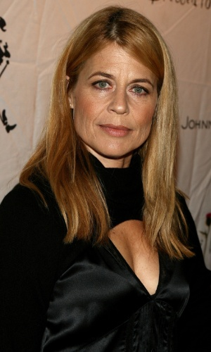 Linda Hamilton na festa Johnnie Walker Dressed to Kilt, em Culver City (14/10/2006)