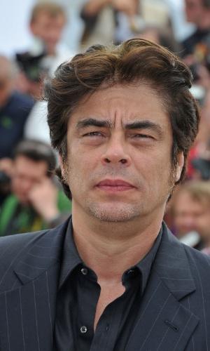 """O ator Benicio Del Toro na apresentação do filme """"7 Dias En La Habana"""" no Festival de Cannes 2012 (23/5/12)"""
