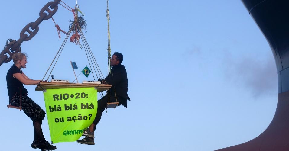 Protesto do Greenpeace no Maranhão menciona Rio+20