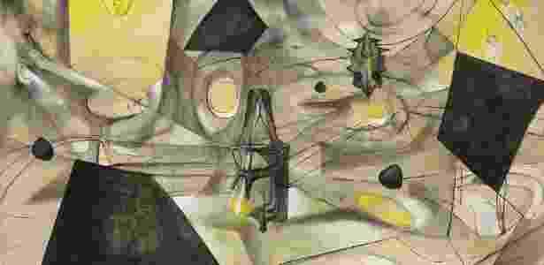 """Tela """"La revolución de los contrarios"""", do pintor chileno Roberto Matta - EFE"""