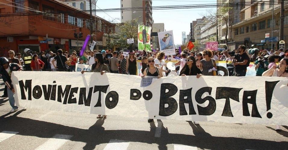16.jul.2011 - Manifestantes pedem