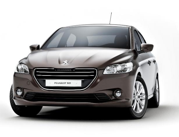 Peugeot 301 será fabricado em Vigo (Espanha) e estreia no Salão de Paris, em setembro - Divulgação