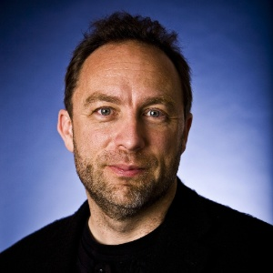 Jimmy Wales, o fundador da Wikipedia