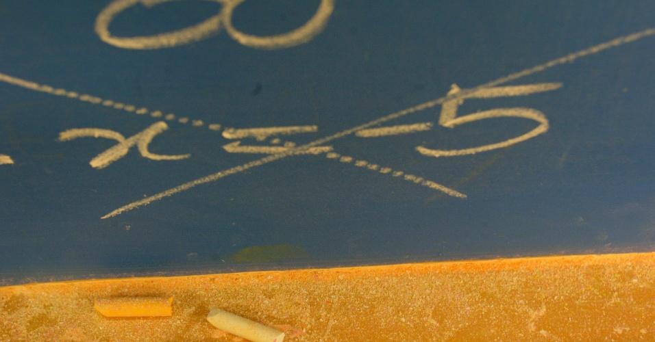 Matemática - Foto Cursinho Anglo
