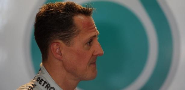 Michael Schumacher abandonou quatro das seis corridas do ano até aqui