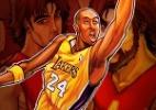 Super-heróis olímpicos - Kobe Bryant - Arte UOL