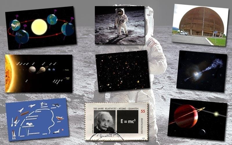 Dos movimentos planetários à física das partículas, da lei da gravidade ao Big-Bang, que tal fazer uma viagem aos mistérios do Universo?