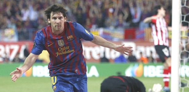 Messi fez seu 78º gol na temporada na vitória sobre o Athletic e superou marca de Pelé