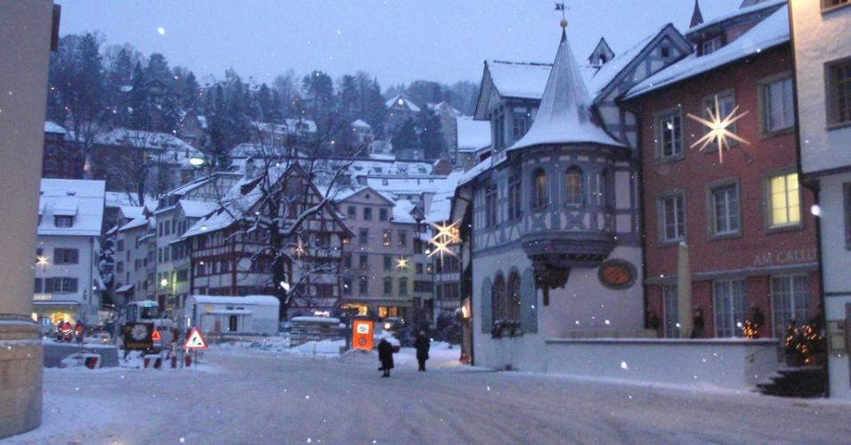 Na foto, a cidade de St Gallen
