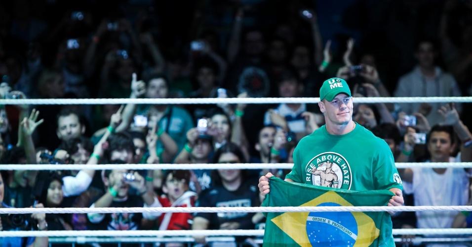 No segundo combate mais importante da noite, o ex-campeão John Cena bateu Dolph Ziegler, que, durante o combate, teve ajuda de seu ?segurança?, do chefão do Raw John Laurinaitis e de outro lutador, David Otunga