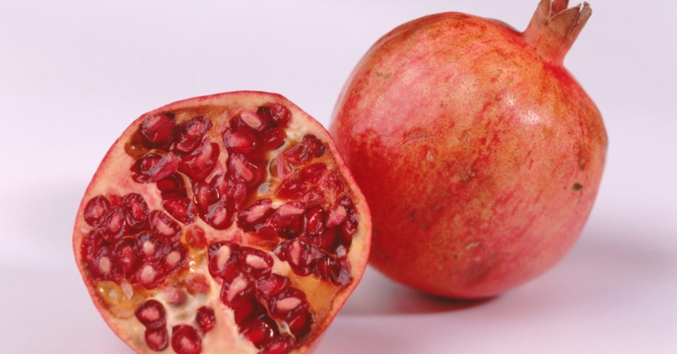Romã; fruta