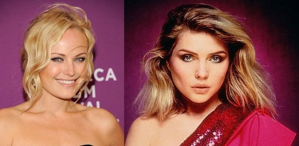 "Malin Ackerman (à esq.) vai interpretar a líder do grupo Blondie, Debbie Harry, no filme ""CBGB"""