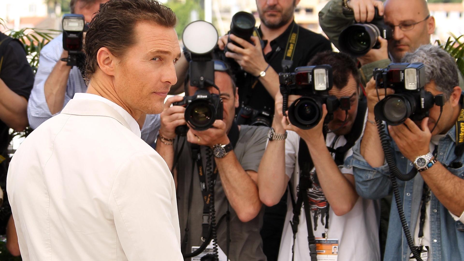 Matthew McConaughey diante do