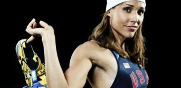 Uma das mulheres mais velozes nos 100 m com barreira, Lolo Jones é favorita em Londres-2012