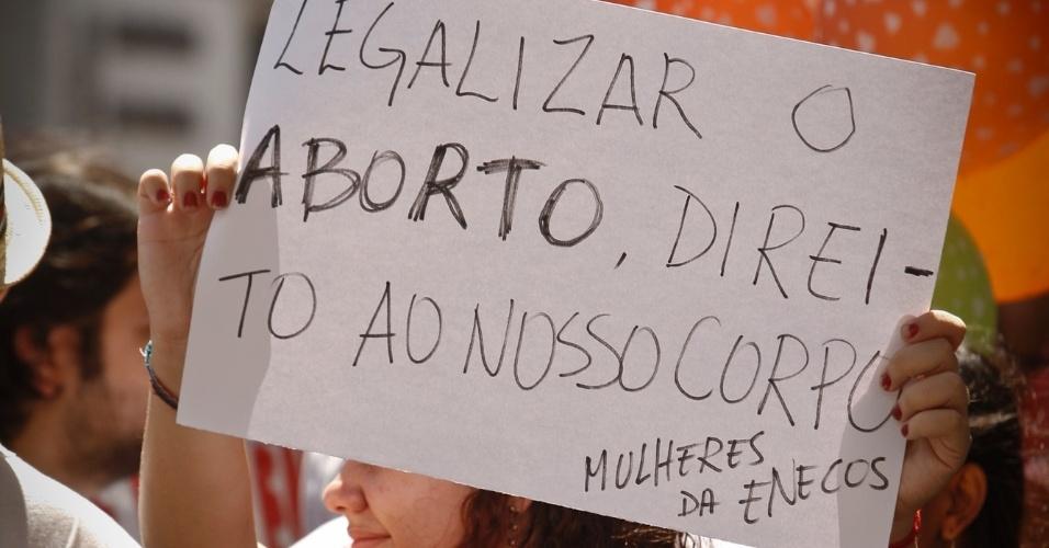 27.mai.2012 - Marcha das Vadias realizada em Belem, no Pará