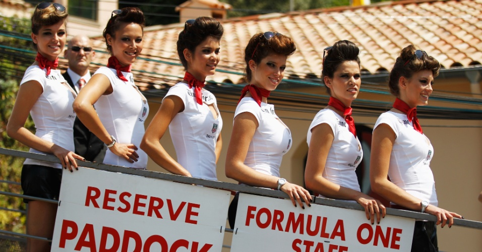 Grid girls brilharam no GP de Mônaco de Fórmula 1
