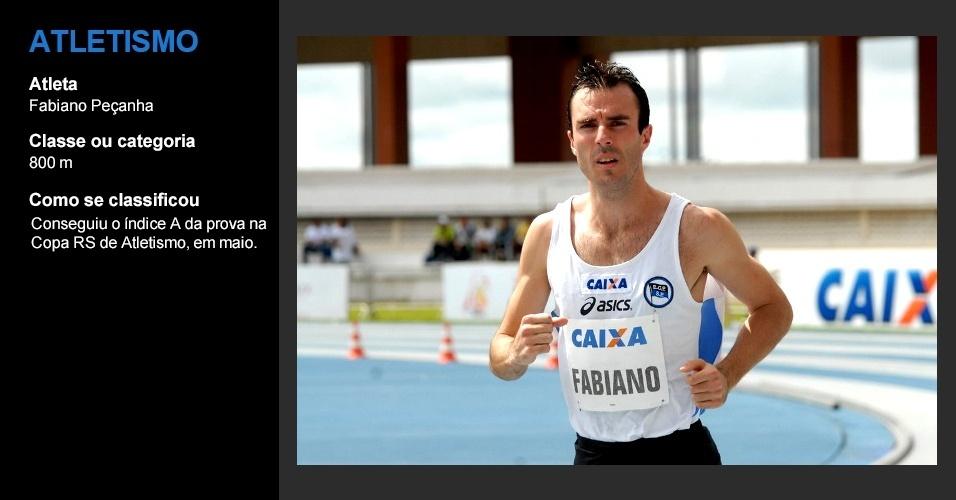Fabiano Peçanha, atletismo