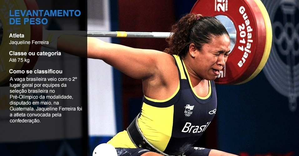 Jaqueline Ferreira, levantamento de peso