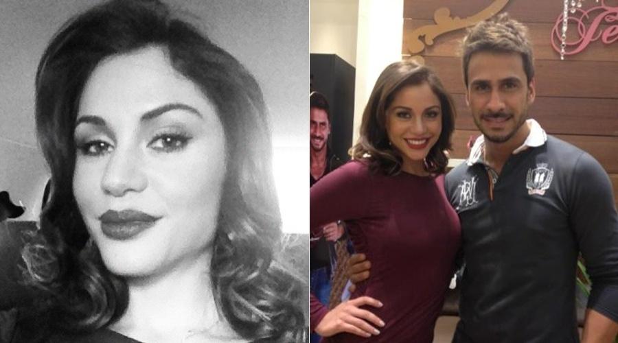 Maria Melilo exibiu o novo visual. A atriz apareceu com os cabelos mais curtos, na altura dos ombros, durante o lançamento de uma coleção de roupas (28/5/12)