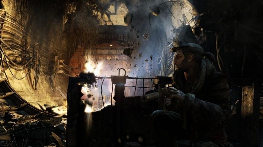 """Ambientes destrutíveis deixarão os confrontos de """"Metro: Last Light"""" ainda mais empolgantes"""
