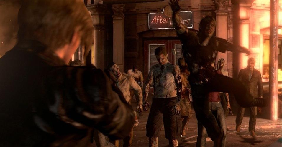 """Aposta máxima da Capcom, """"Resident Evil 6"""" reúne heróis dos jogos anteriores e promete redefinir o gênero de horror de sobrevivência"""