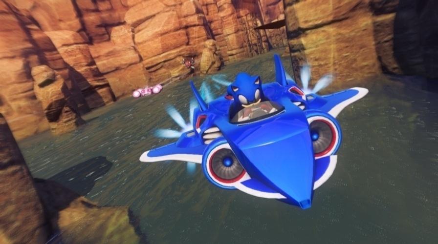"""Em """"Sonic & All-Stars Racing Transformed"""", Sonic e outros personagens da Sega se reúnem para mais corridas motorizadas"""