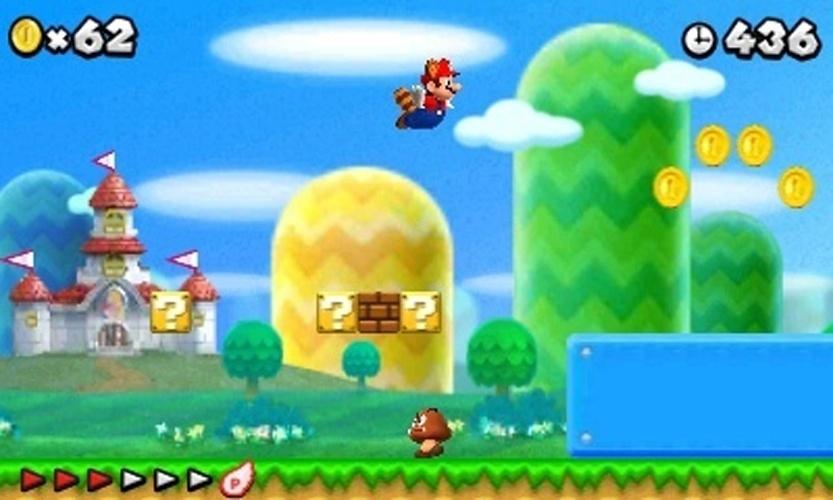 """Folha que transforma Mario em guaxinim estará em """"New Super Mario Bros. 2"""""""
