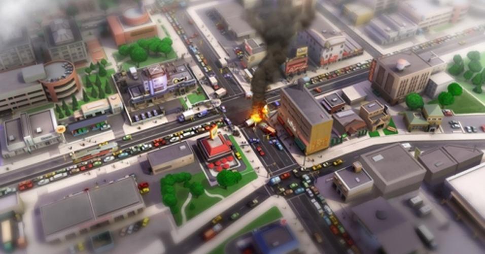 """Jogo com temática ecosustentável, em """"SimCity"""" você vai construir e administrar sua cidade em um mundo conectado e interdependente"""