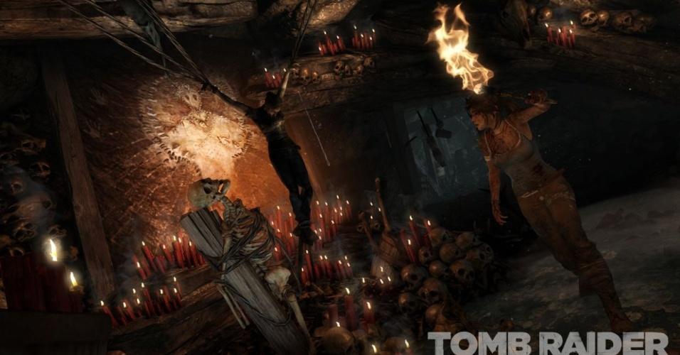 """Lara Croft renasce em """"Tomb Raider"""", novo game para PS3, X360 e PC que contará uma nova origem da heroína"""