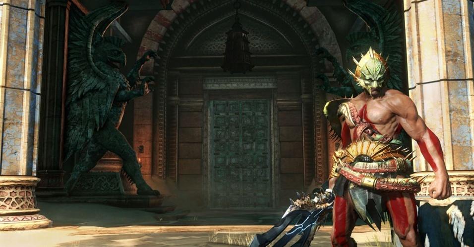 """Modo multiplayer e uma história que mostra o passado de Kratos são os atrativos de """"God of War: Ascension"""""""