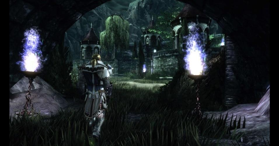 """Neverwinter"" é MMORPG baseado no popular jogo de tabuleiro  ""Dungeons & Dragons"""