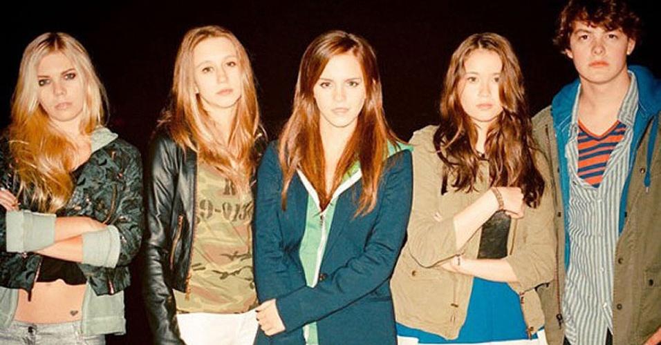 """Nicki (Emma Watson, centro) e seus amigos em foto de """"The Bling Ring"""", novo filme de Sofia Coppola que deve ser lançado em 2013"""