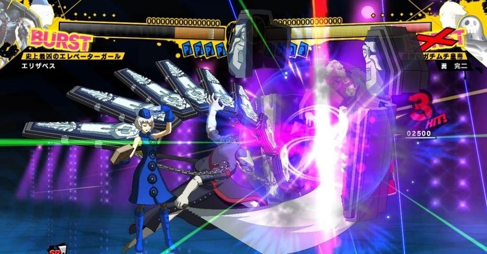 """Inspirado em RPG japonês, """"Persona 4 Arena"""" traz pancadaria com adolescentes e demônios para consoles de alta definição"""
