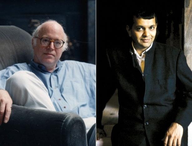 Os escritores Richard Sennett (à esquerda) e Suketu Mehta - Divulgação
