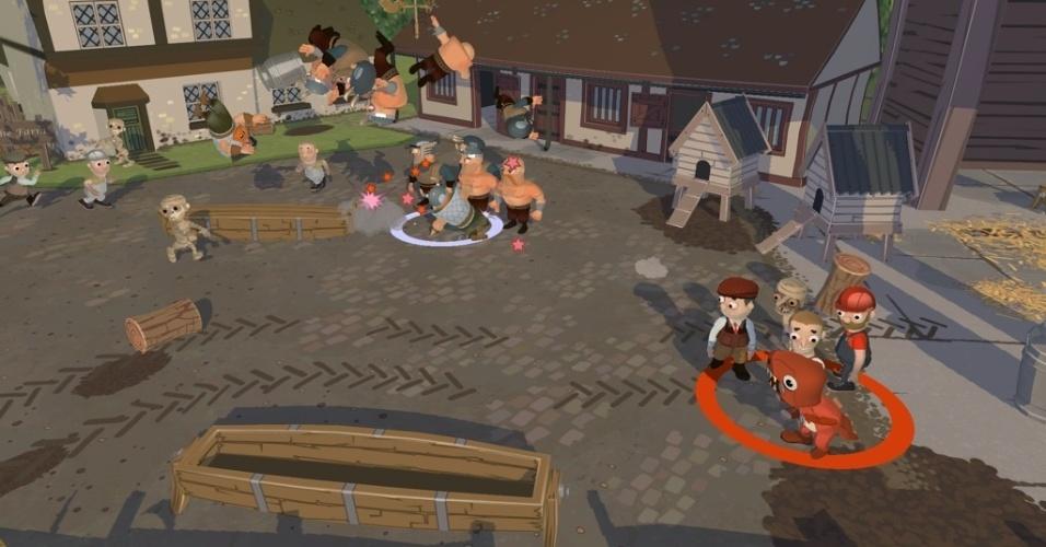 """Para PS3, """"When Vikings Attack"""" mostra uma inusitada história com vikings destruindo cidades nos tempos atuais"""