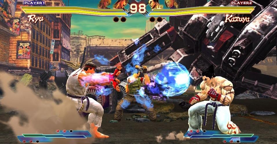 """Street Fighter X Tekken"" promeverá encontro de briguentos no PS Vita"