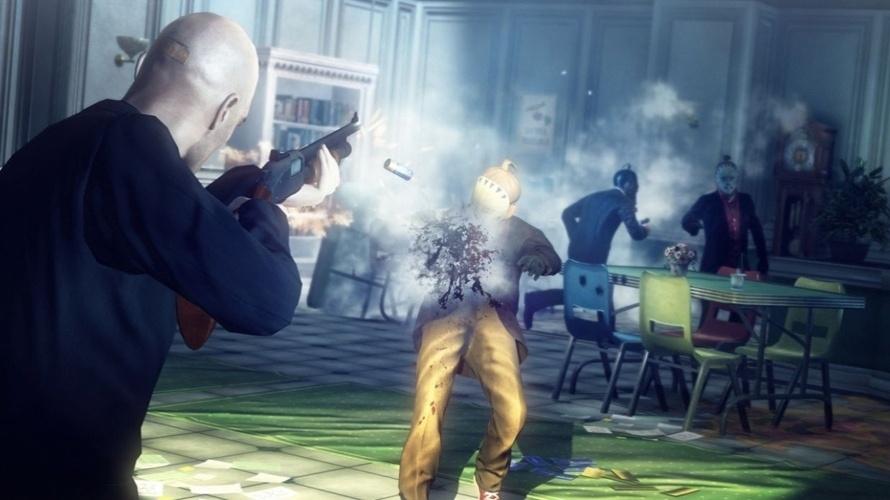 """Tiroteios e poder especial que marca os inimigos no cenário caracterizarão """"Hitman Absolution"""""""