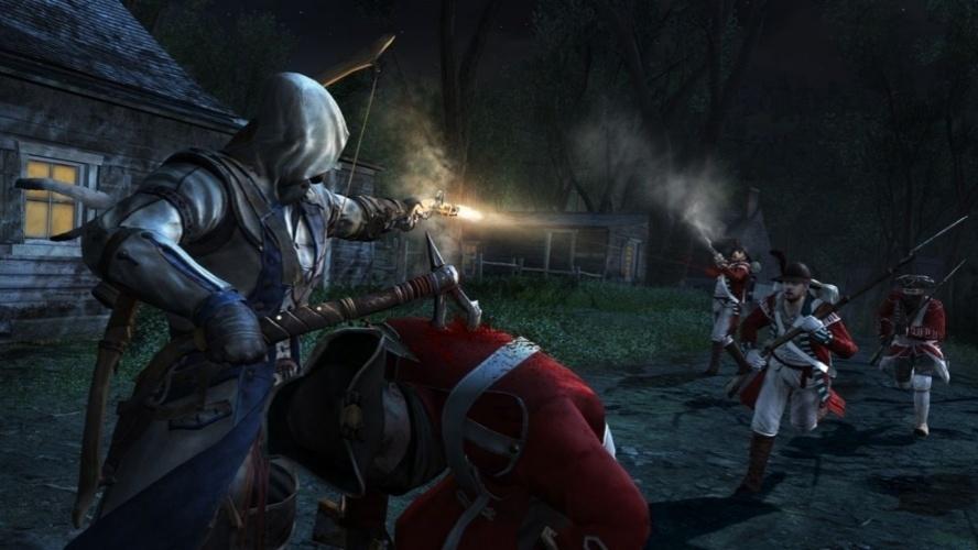 """Um novo assassino luta pela independência americana em """"Assassin's Creed III"""""""