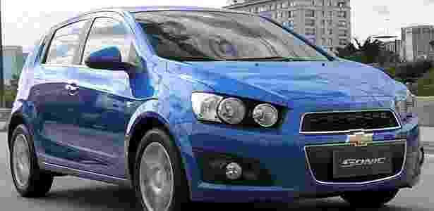 Olhar malvado e boca enorme garantem visual marcante ao Sonic, novidade da Chevrolet - Reprodução