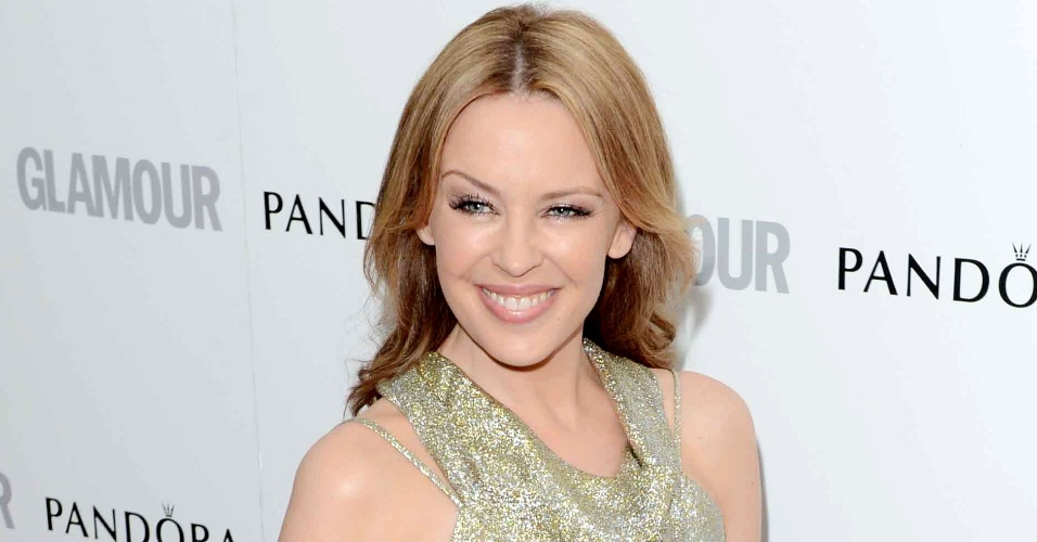 "Kylie Minogue prestigia o Glamour Women of The Year, premiação realizada pela revista ""Glamour"" (29/5/12)"