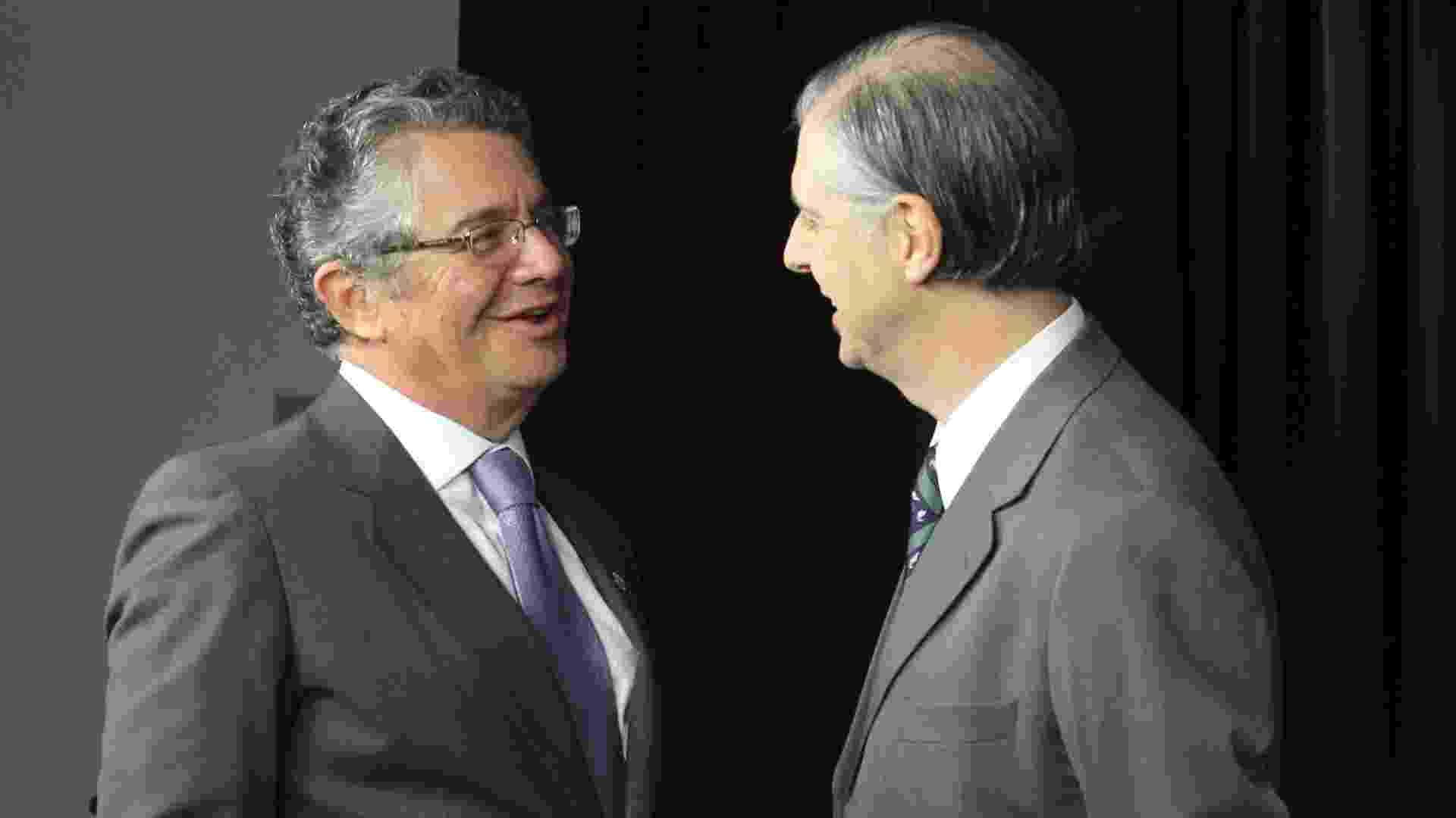 Marco Aurélio Mello, ministro do Supremo Tribunal Federal, participou do Poder e Política Entrevista, do UOL e da Folha, em 30 de maio de 2012. - Lula Marques 30.mai.2012/Folhapress