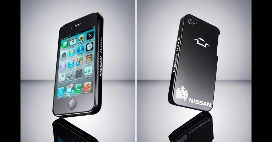20.jan.2012 - A Nissan, fabricante de automóveis, pretende lançar uma novidade, mas no mercado de smartphones: uma capa para iPhone 4/4S que tem a capacidade de ''se curar de arranhões''. A tecnologia, criada em parceria com a Universidade de Tóquio, havia sido anunciada pela empresa há alguns anos para a pintura de carros. Funciona assim: se você deixar o aparelho com a capa cair no chão, um eventual arranhão na superfície desaparece em cerca de uma hora. A Nissan Scratch Shield iPhone ainda está em teste, com possibilidade de ser lançada até o final deste ano