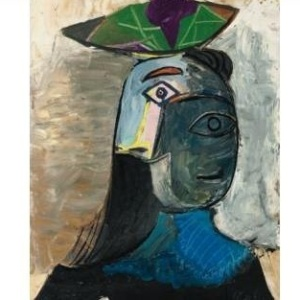 Retrato da amante de Picasso, Dora Maar  - Reprodução/FranceTV