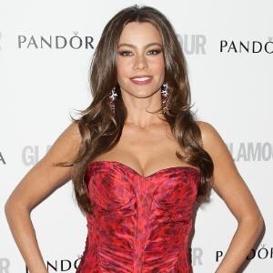 """Sofia Vergara prestigia o Glamour Women of The Year, premiação realizada pela revista """"Glamour"""" (29/5/12)"""