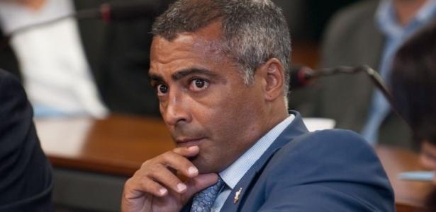 Deputado federal e ex-jogador de futebol Romário (PSB-RJ) criticou a direção da CBF