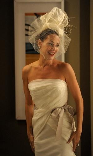 Alexia se casa com um vestido Vera Wang em