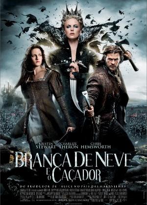 """Cartaz nacional do filme """"Branca de Neve e o Caçador"""""""