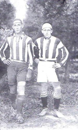 Francisco Gaboni, um dos fundadores do Lausanne Paulista, ao lado de Paschoal Gabriel