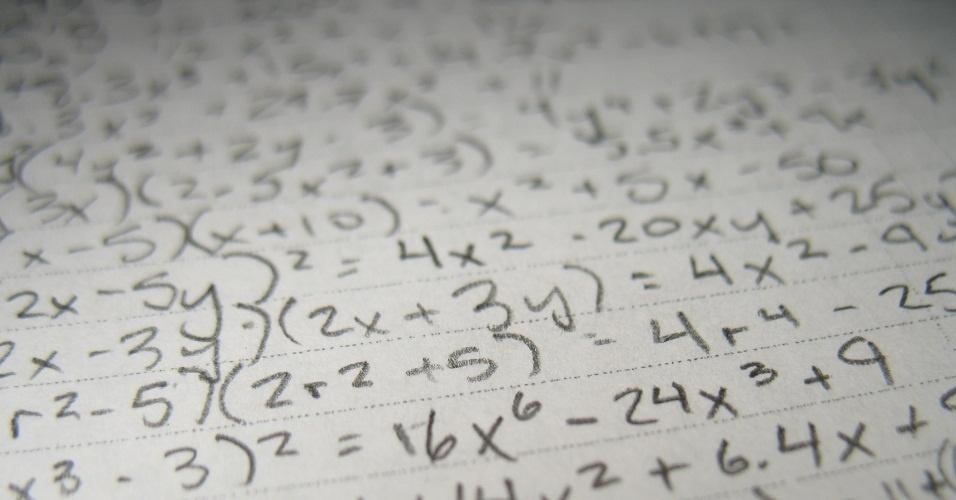 Matemática, contas