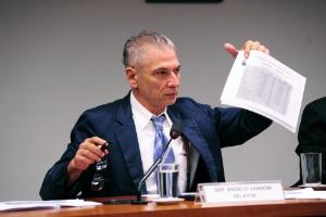 O deputado Angelo Vanhoni (PT-PR), relator do PNE